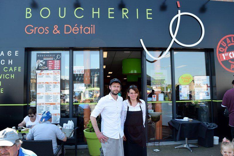 La Boucherie JO, une équipe de choc au service de la clientèle