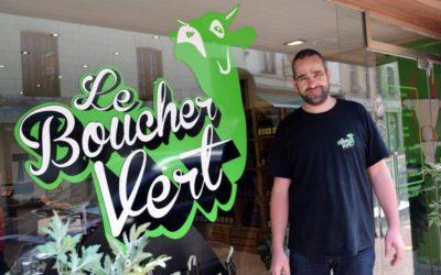 Le Boucher Vert emménage dans la rue Brun