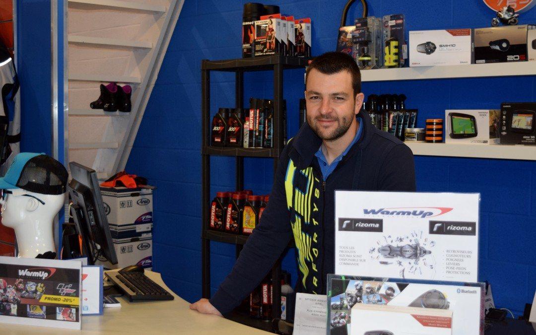 Warmup, un magasin dédié à l'équipement des fans de moto!