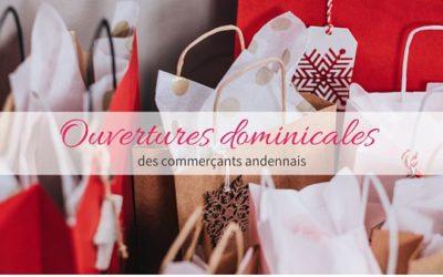 De nombreux commerces seront ouverts les dimanches du mois de décembre