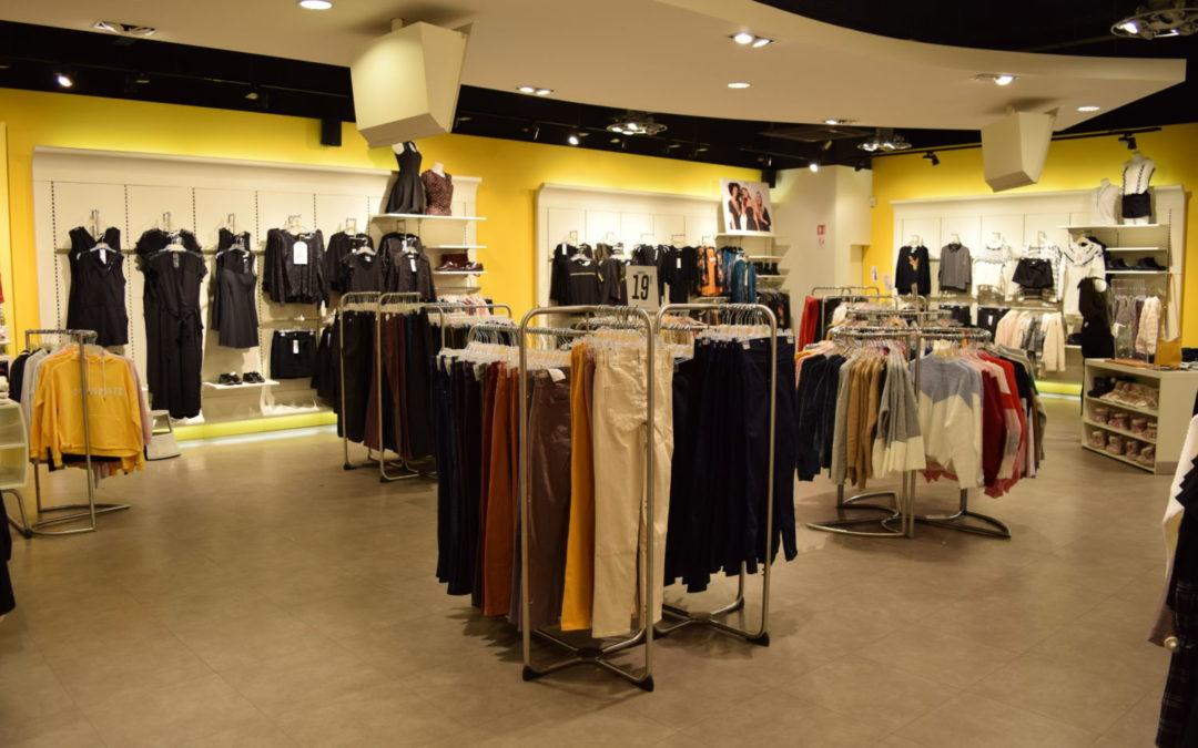 Situé sur le site Godin, le magasin Cache Cache devient Vib's