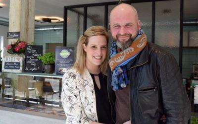 Cyrielle et Stéphane vous attendent chez «Mmmhhh Sandwicherie Fine et Traiteur»