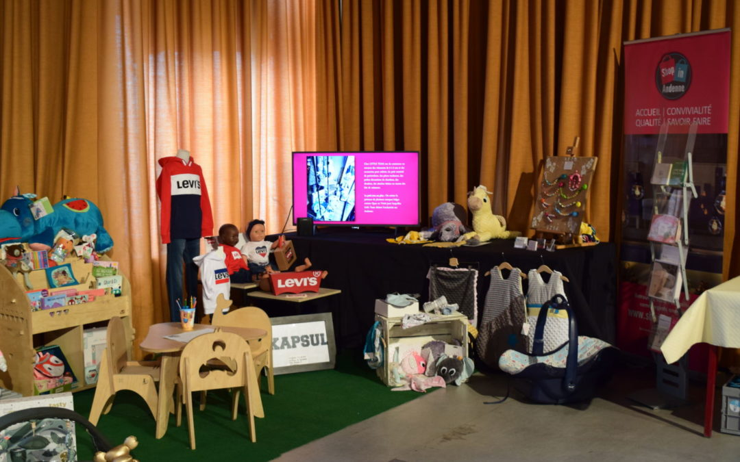 Les commerces du secteur du bébé réunis sous le label «Shop in Andenne»