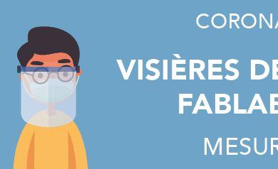 Coronavirus : Mesures d'hygiène pour bien utiliser les visières développées par Yourlab