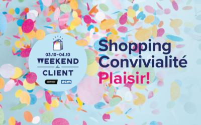 Deux weekends de shopping et de convivialité pour un soutien aux commerçants andennais