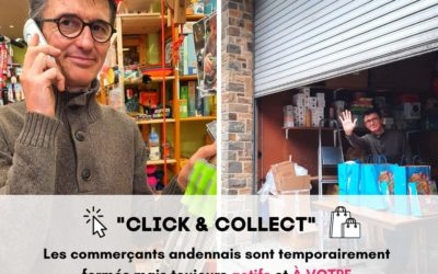 Coronavirus : Retrait en magasin, « Click & Collect », les commerçants s'organisent