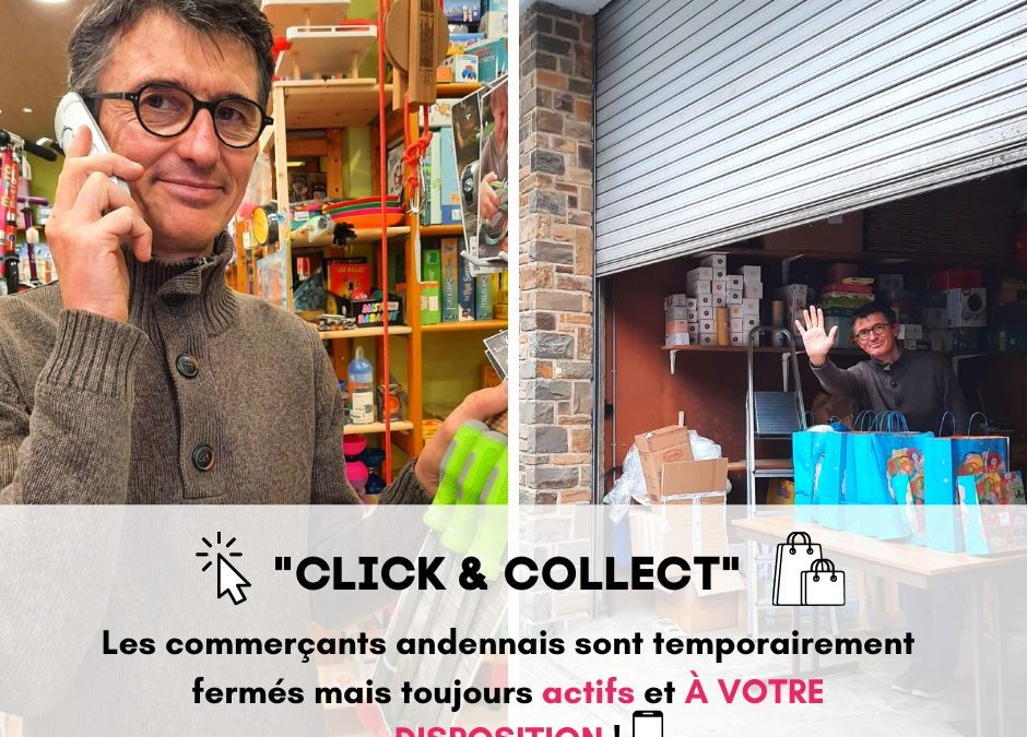 Coronavirus : Retrait en magasin, «Click & Collect», les commerçants s'organisent
