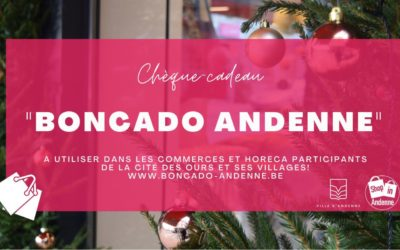 Pour ces fêtes 2020, offrez des chèques-cadeaux valables dans les commerces andennais