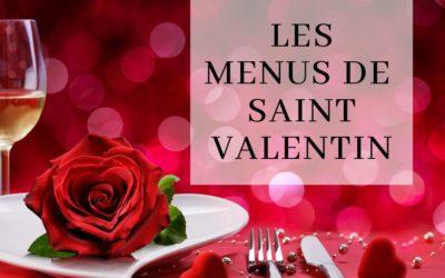 Les menus de Saint Valentin des traiteurs et restaurateurs andennais