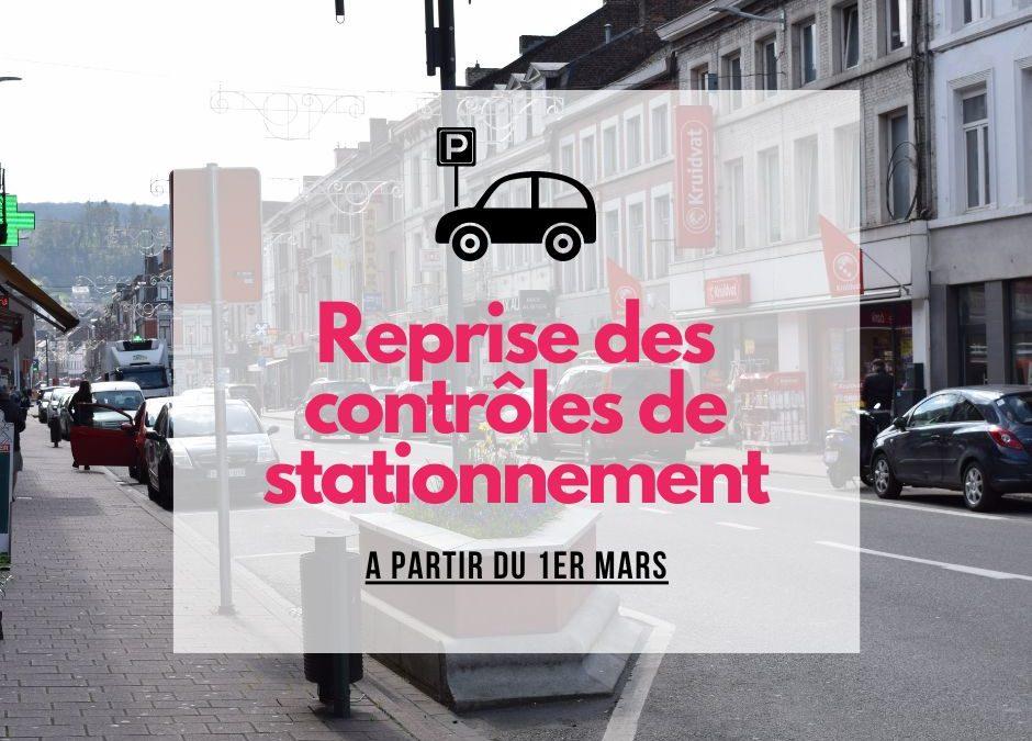 Reprise des contrôles de stationnement par Indigo à partir du 1er mars 2021