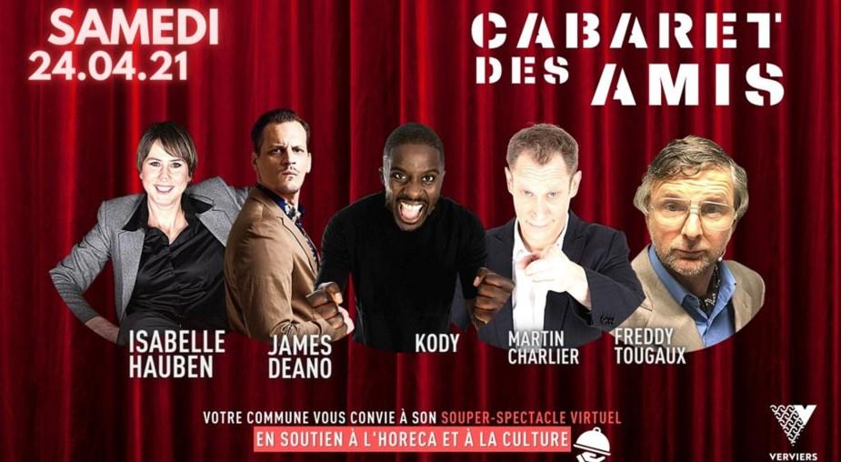 Le 24 avril, Andenne et ses restaurants participent à l'action «Le Cabaret des Amis»