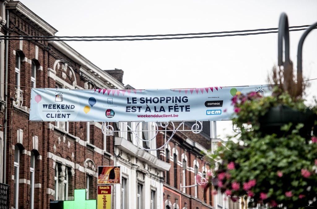 Weekend du Client 2021 : Shop in Andenne et les commerçants andennais participent! Et vous?